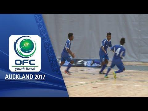 NEW ZEALAND v SOLOMON ISLANDS     Men's Highlights - OFC YOUTH FUTSAL TOURNAMENT