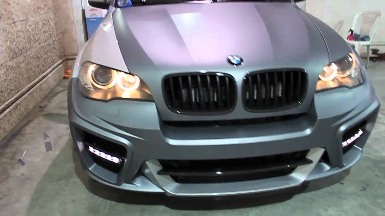 Bmw X5 G Power Typhoon Wrapped In Matte Grey Silver By Dbx