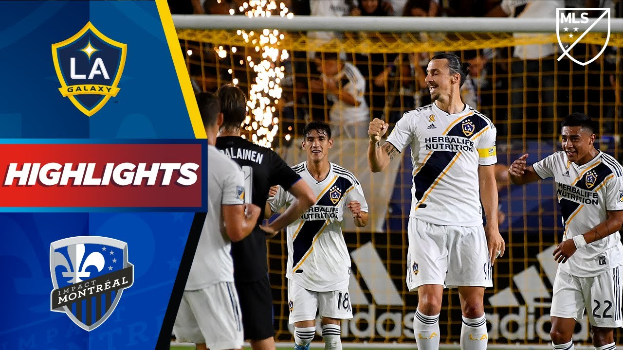 LA Galaxy vs Montreal Impact | Fireworks from Zlatan! | HIGHLIGHTS