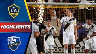LA Galaxy vs Montreal Impact | Fireworks from Zlatan! | HIGHLIGHTS