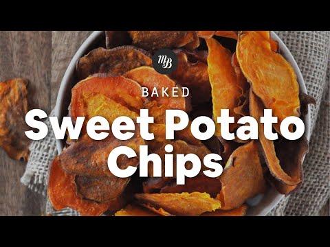 Baked Sweet Potato Chips | Minimalist Baker Recipes