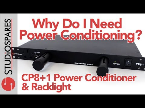Why Do I Need Power Conditioning? - Studiospares CP8+1 Power Conditioner