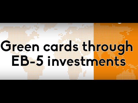 EB-5 Green Cards based on Investments
