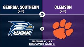 Download Video 2018 Week 3 - Georgia Southern at Clemson MP3 3GP MP4