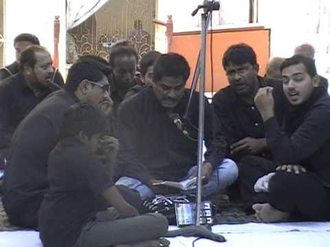 Marsiya of Imam Hussain a.s - Shahriyar walajahi