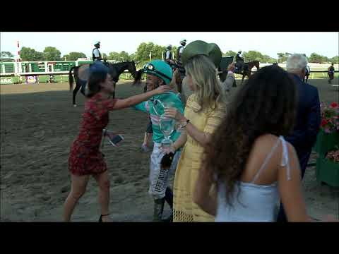 video thumbnail for MONMOUTH PARK 7-20-19 RACE 8 – THE MOLLY PITCHER