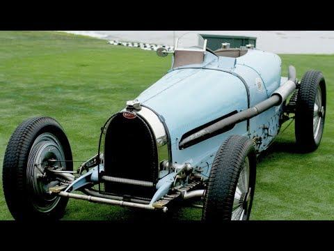 The last four of Ettore Bugatti's creations, The Type 59s