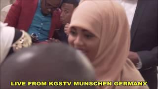 Arooskii Faraska iyo Geenyada Caydiid Siciid iyo Hoodo Cali Haybe Munschen Germany