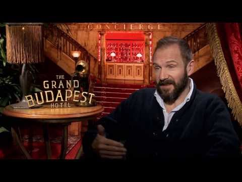 "The Grand Budapest Hotel: Ralph Fiennes ""M. Gustave"" Official Movie Interview - Junket"