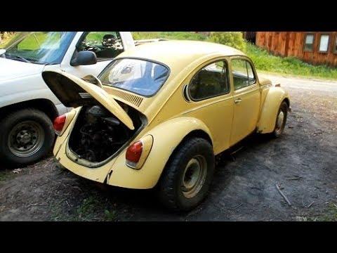 1971 VW Super Beetle Project Part 1: Will It Run?