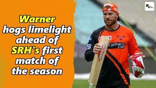 Watch: David Warner the 'star' attraction during SRH practice session at Eden Gardens | IPL 2019 thumbnail