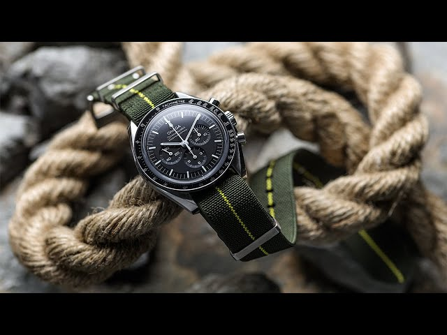 The Perfect Straps For Your Speedy | Omega Speedmaster 3861 Strap Showcase