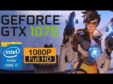 Overwatch FPS Test(ultra) 1080p | GTX 1070 + i7-7700HQ Laptop | Msi Ge73VR  7RF Raider