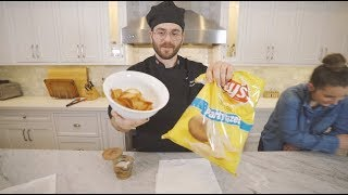 trying to make diy lays chips