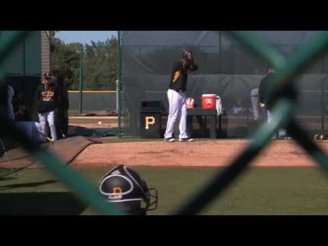 Pittsburgh Pirates pitchers and catchers at Spring Training