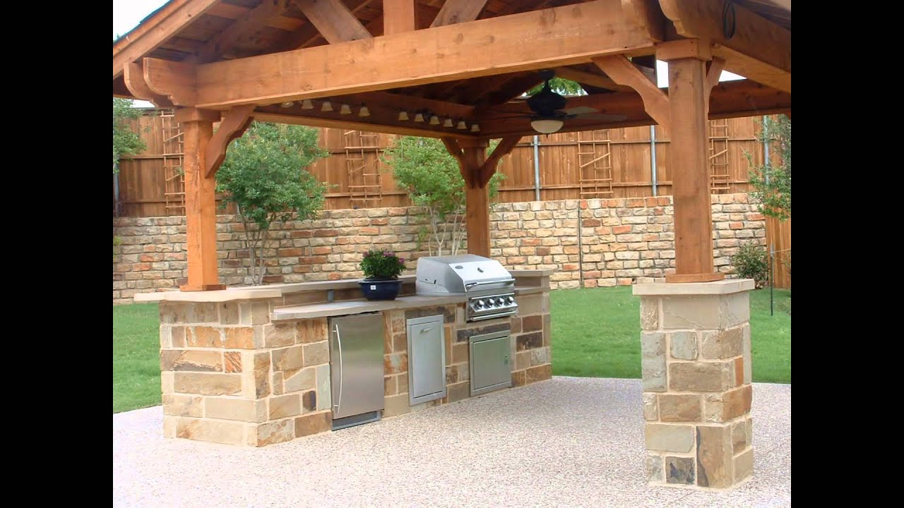 Outdoor Kitchen Plans - YouTube