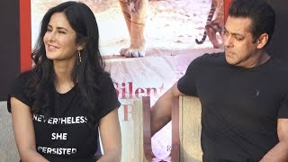 Salman Khan cant keep his eyes off Katrina Kaif | Watch Video
