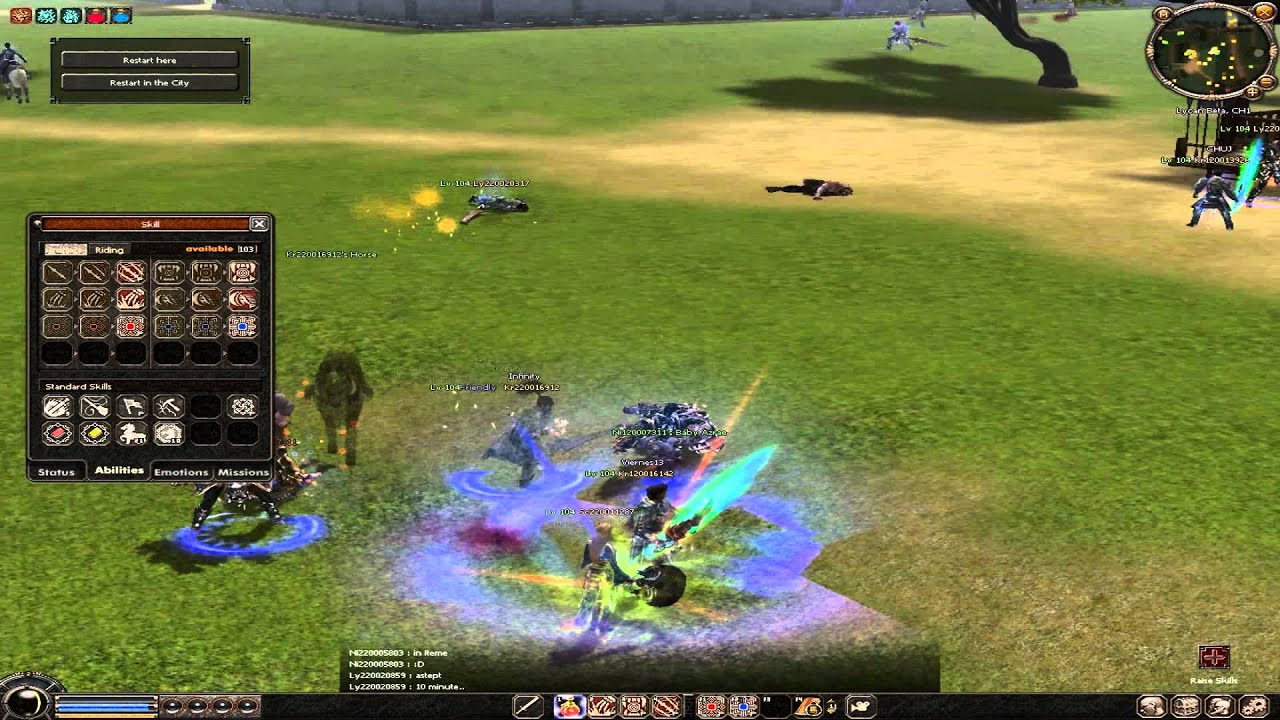 Metin2 Ninja >> Metin2 - Lycan - 5 new character and sixth skill of ninja ...