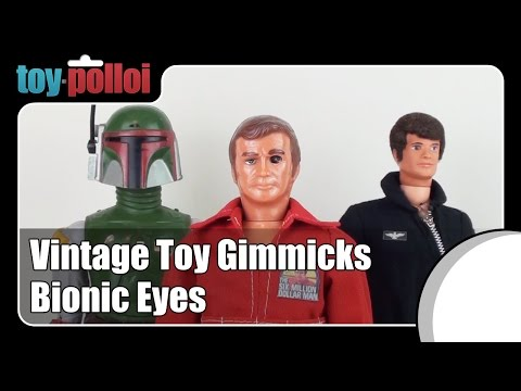 Vintage Toy Review - Bionic Eyes