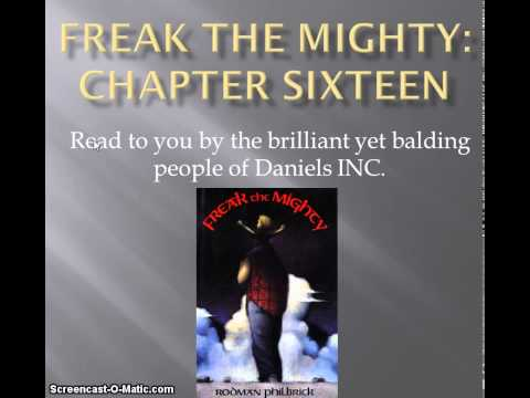 Freak the Mighty chapter 16