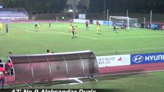 ALB-S 2012 S.League 21st Leg vs.  Tampines Rovers FC 26th/Sep