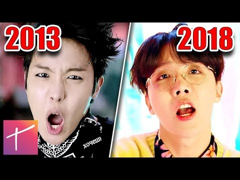 BTS Music Video Evolution: From 'No More Dream' To Idol