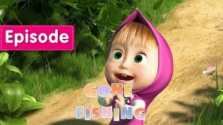 masha and the bear   gone fishing   episode 8