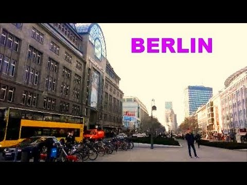 Berlin - A trip from Alexanderplatz to Tegel Airport