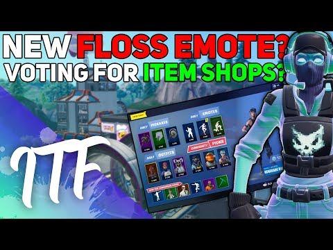 NEW FLOSS? Community Voting Item Shop! (Fortnite Battle Royale)