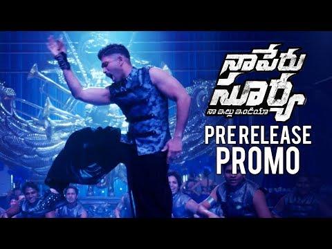Naa Peru Surya Naa Illu India Pre Release Promo | Allu Arjun | Anu Emmanuel | TFPC