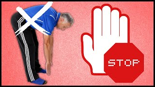 WORST Back Stretch EVER. Stop This Today! Can Cause Back Pain & Sciatica.