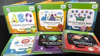 LeapStart Activity Books from LeapFrog