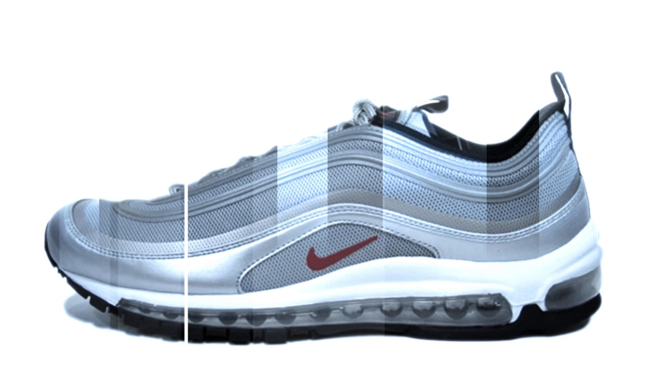 Nike Air Max '97 Premium Tape QS Metallic SilverVarsity Red