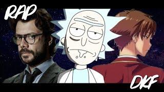 ⚪️Rap das Mentes Brilhantes | Rick - Professor - Ayanokoji | DKF