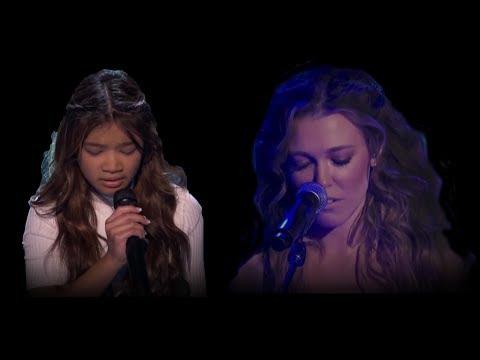 """Angelica Hale and Rachel Platten """"Fight Song"""" Original vs. Version... Mel-B said WHAAAA....???"""