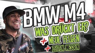 JP Performance - BMW M4 F82 | Was drückt er jetzt? + neue Felgen!