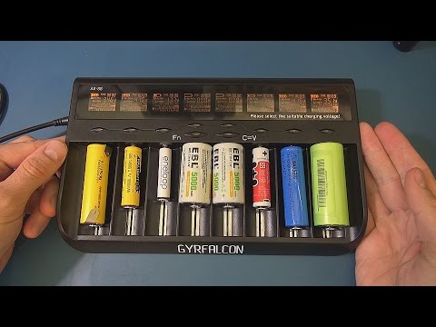 GYRFALCON All 88 Multi Cell Charger - Li-ion LiFePO4 Ni-Mh