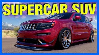 We're building Forza Horizon 3 First Supercar SUV! This Jeep SRT wi...
