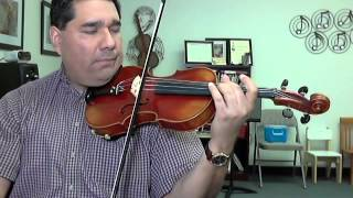 Bach Double Violin Concerto - 2nd Violin Practice WITH METRONOME - Part 2