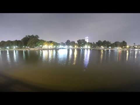 Hanoi Zoological Garden Zoo and Park at Night (2016)