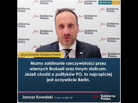 Krzysztof Śmiszek zapomina że ślubował wierność Konstytucji!