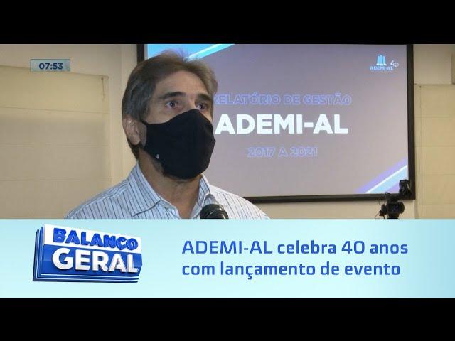 Evento virtual: ADEMI-AL celebra 40 anos com lançamento de nova edição do Imóvel é Mais Negócio