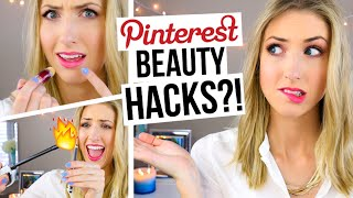 One of RachhLoves's most viewed videos: 5 Pinterest Beauty Hacks TESTED!