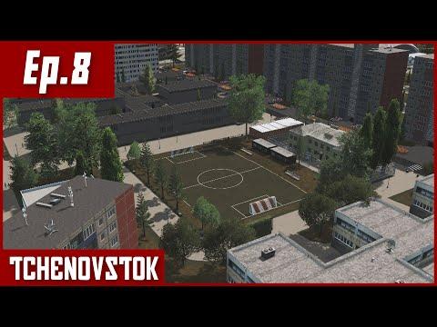 Soviet Cities Skylines - Tchenovstok : Entertainment District [Ep.8] |