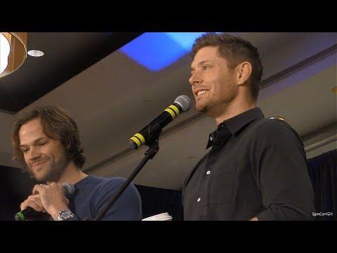 Montreal Con Jared Padalecki and Jensen Ackles FULL GOLD Panel 2018 Supernatural