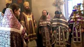 Первая архиерейская служба епископа Силуана(, 2013-04-15T17:01:41.000Z)