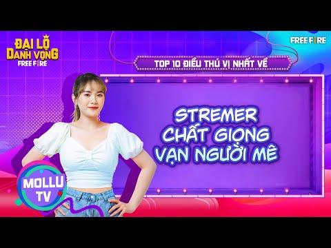 @Mollu TV STREAMER Chất Giọng Vạn Người Mê Hãy Cùng Top 10 Sự Thật Thú Vị Tìm Hiểu Streamer Này Nhé