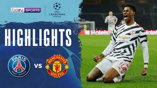 PSG 1-2 Manchester United | Champions League 20/21 Match Highlights