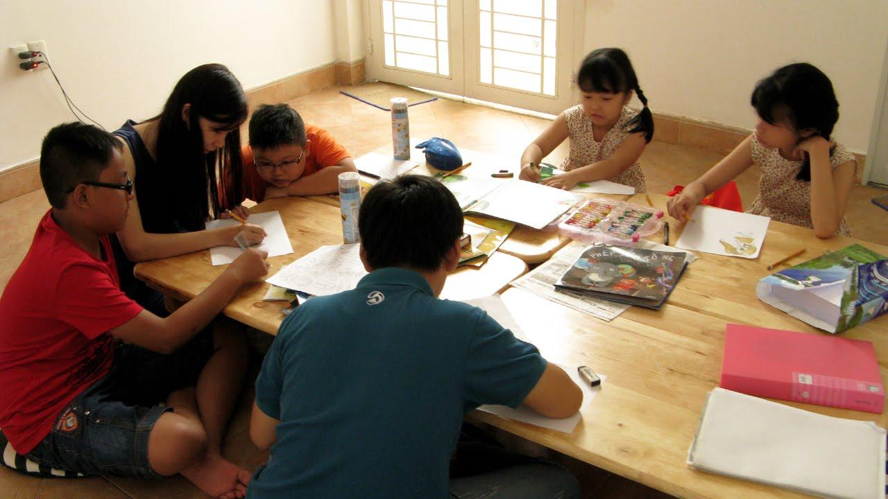Lớp học vẽ mỹ thuật thiếu nhi: Vẽ hội họa, truyện tranh Manga tại  DO ART
