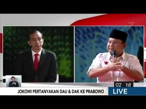 Prabowo sebut BOCOR brp X? Debat Capres SERU LUCU FUN Jokowi Pencitraan Kampanye